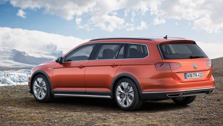 Diseño exterior del Volkswagen Passat Alltrack.