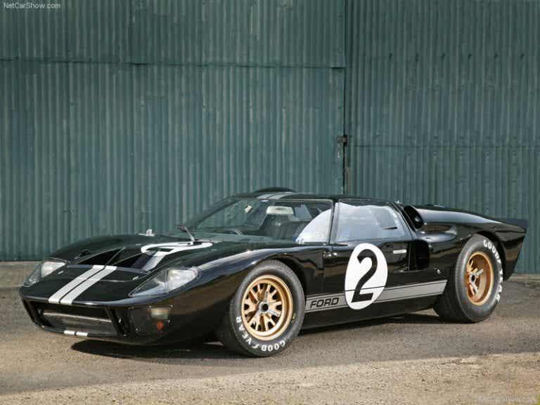 Ford GT40, cuatro veces campeón de las 24 horas de Le Mans