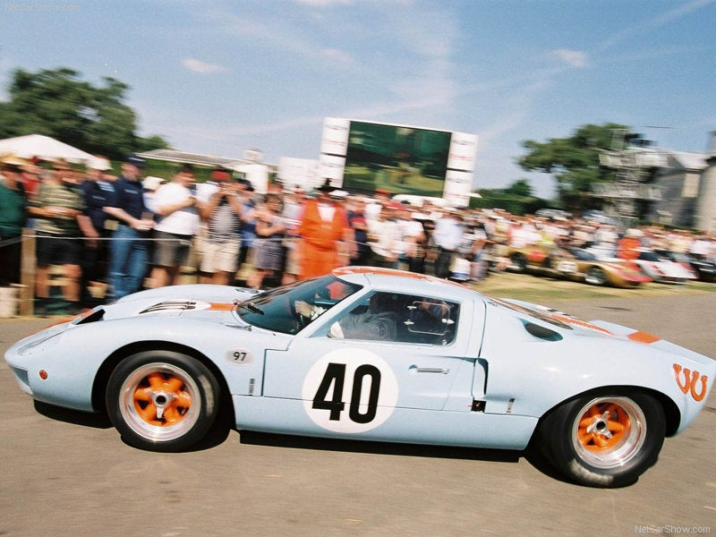 Ford GT40: lateral