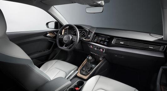 Interior del nuevo Audi A1.