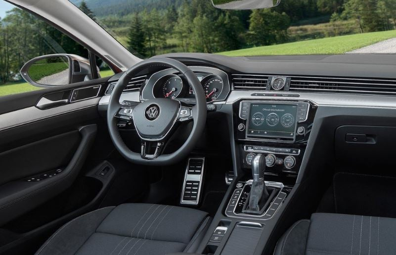 Interior del Volkswagen Passat Allttrack.