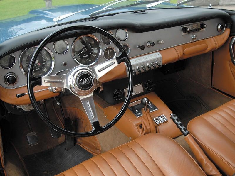 Iso Rivolta GT: interior