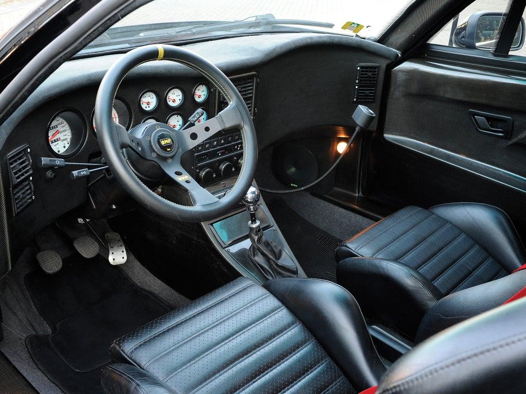 Lancia Hyena: interior