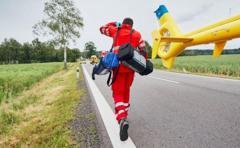 Lesiones más frecuentes por accidentes de tráfico en carretera