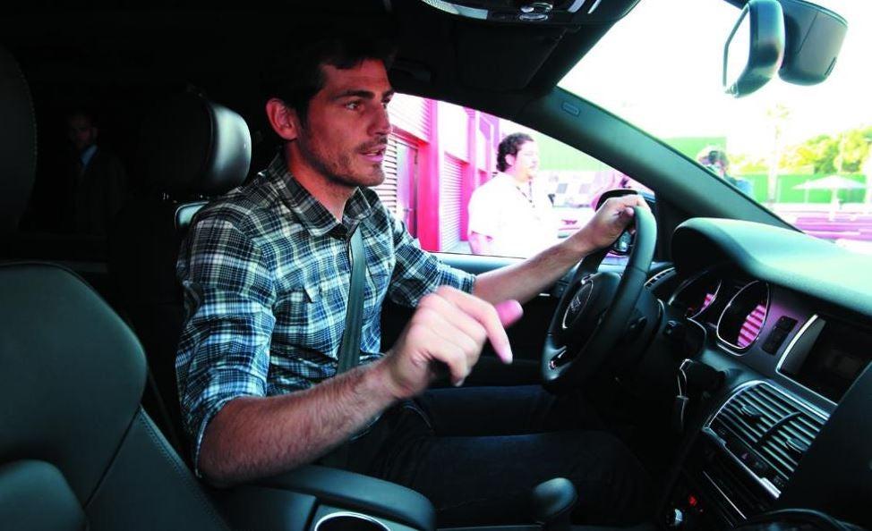 Los coches de Iker Casillas