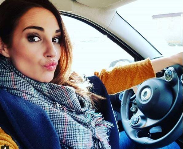 El coche de Paula Echevarría
