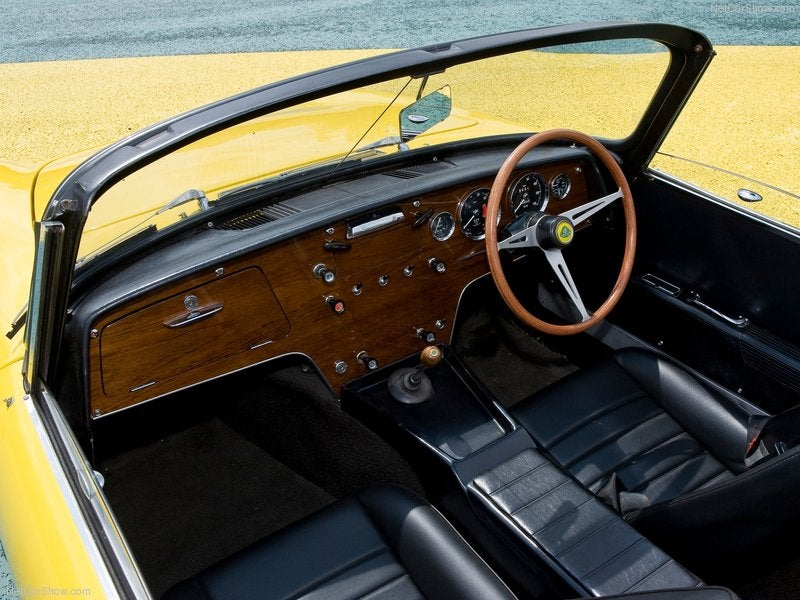 Lotus Elan: interior