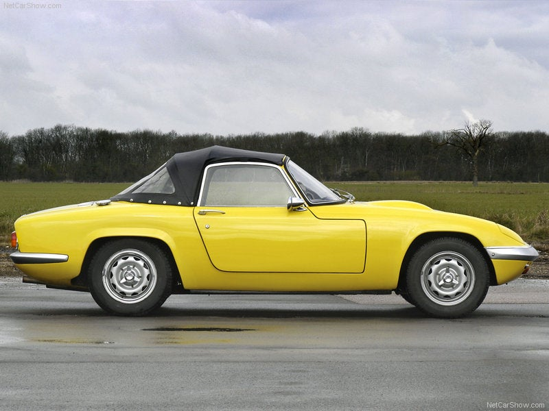 Lotus Elan: lateral