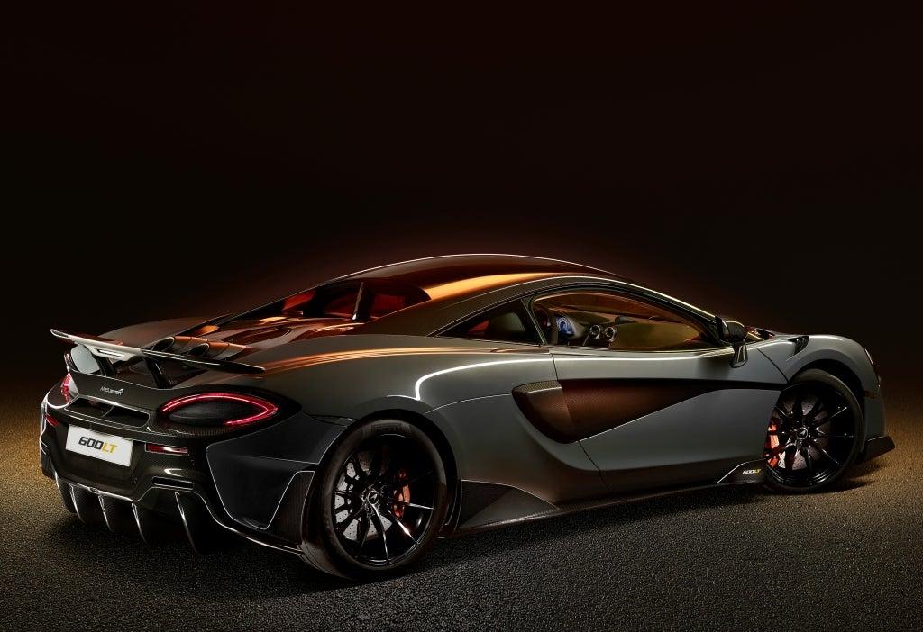 McLaren 600LT: trasera