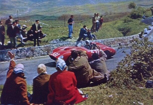 Mille Miglia 1957 Portago