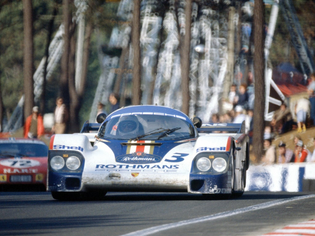 Porsche 956 C: frontal