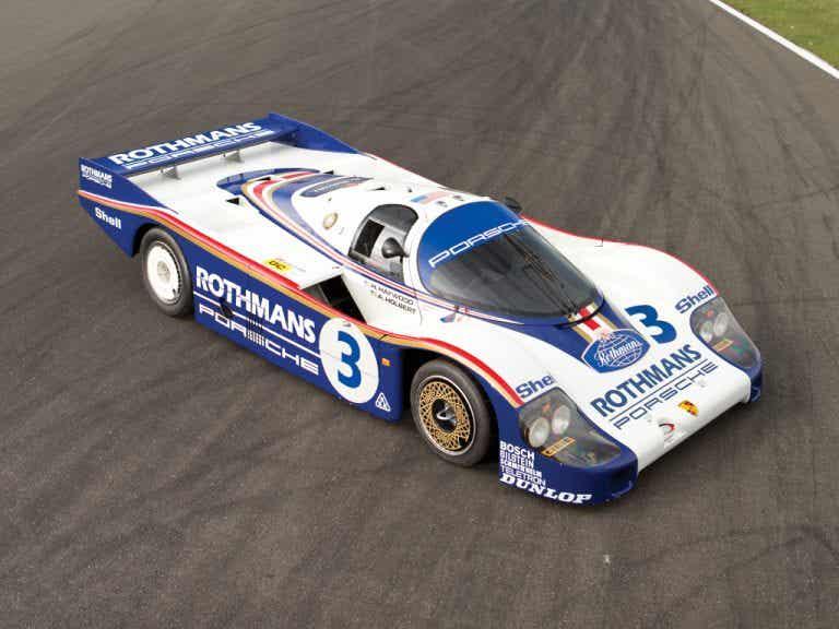 Porsche 956 C, el rey de Le Mans de la década de los 80