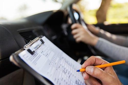 ¿Qué debe tenerse en cuenta en la prueba de conducción?