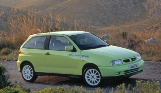 SEAT Ibiza Cupra.