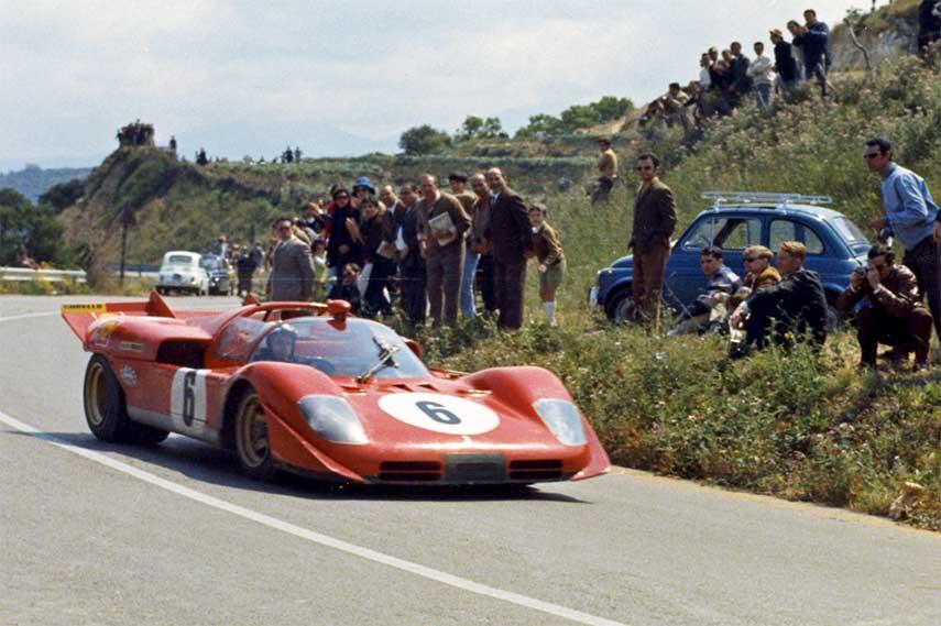 La Targa Florio, la peligrosa carrera por carreteras sicilianas