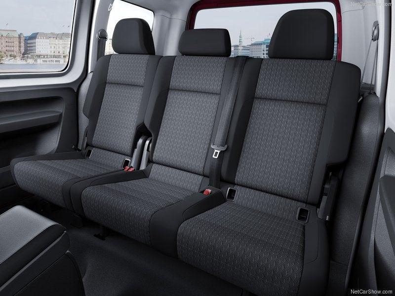 Volkswagen Caddy: habitáculo