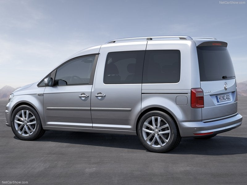 Volkswagen Caddy: trasera