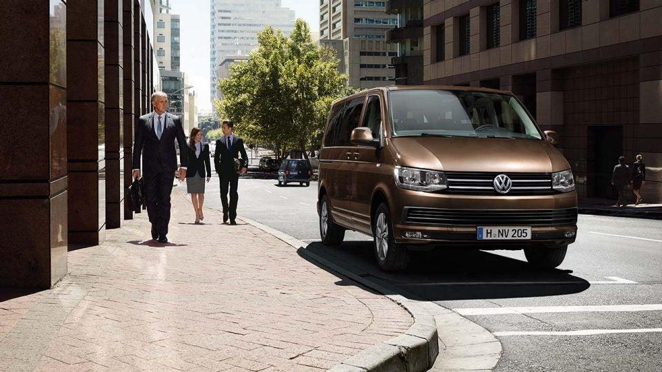 Volkswagen Carevelle: frontal