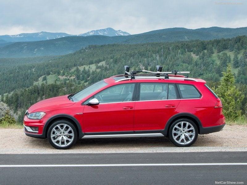 Volkswagen Golf Alltrack: lateral