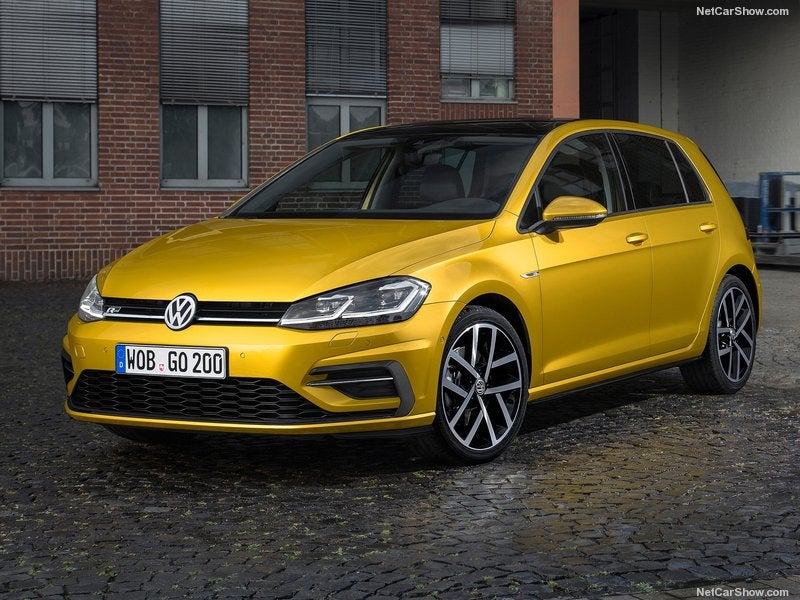 Volkswagen Golf: frontal