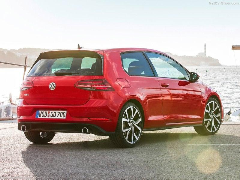 Volkswagen Golf GTI: trasera