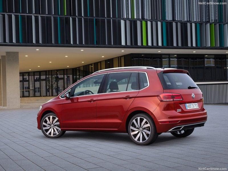 Volkswagen Golf Sportsvan: trasera