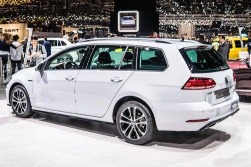 Volkswagen Golf Variant: trasera