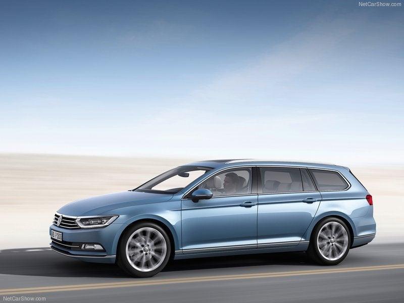 Volkswagen Passat Variant: lateral