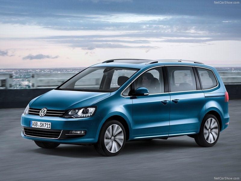 Volkswagen Sharan: para familias numerosas