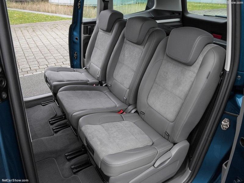 Volkswagen Sharan: habitáculo