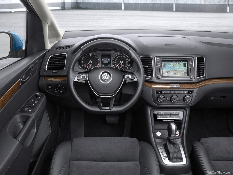 Volkswagen Sharan: interior