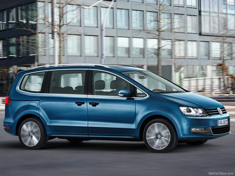 Volkswagen Sharan: lateral