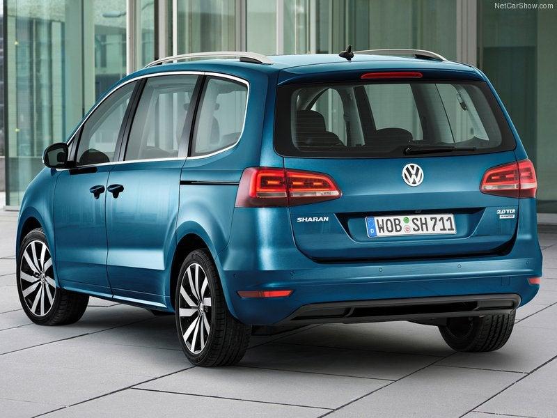 Volkswagen Sharan: trasera