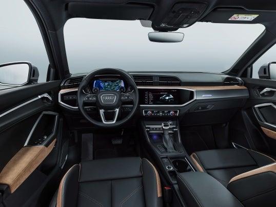 Audi Q3 2018: interior