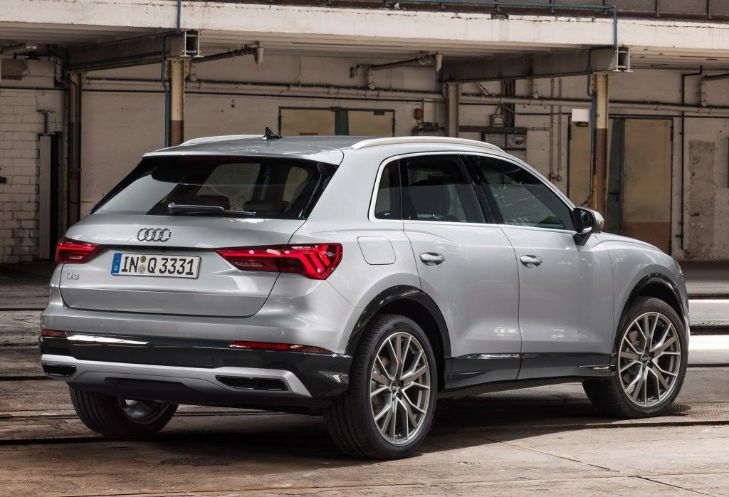 Audi Q3 2018: trasera