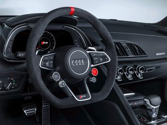 Audi R8 V10 Plus Performance Parts Edition: interior
