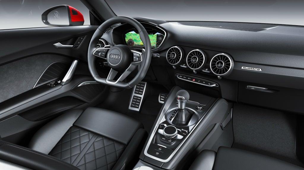Audi TT: Interior