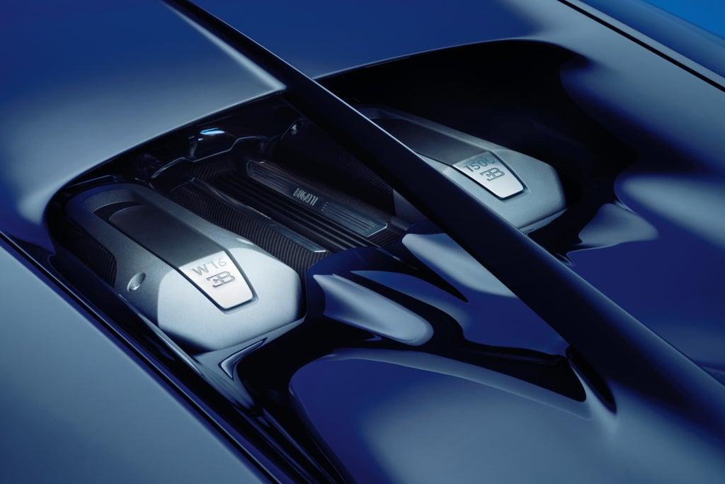Bugatti Chiron: motor
