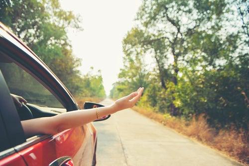 Disfrutar viajando en coche