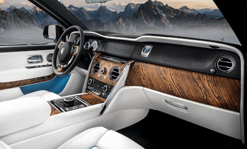 Interior del Rolls-Royce Cullinan.