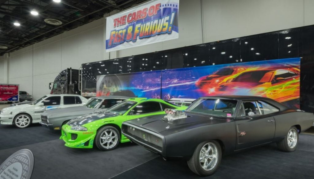 Los coches de la saga Fast and Furious