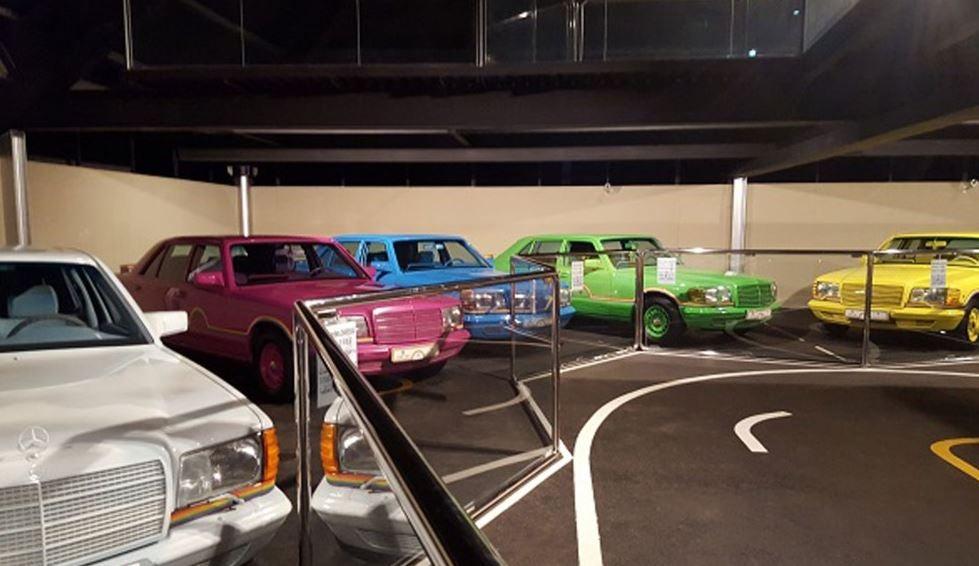 Los coches de los jeques.