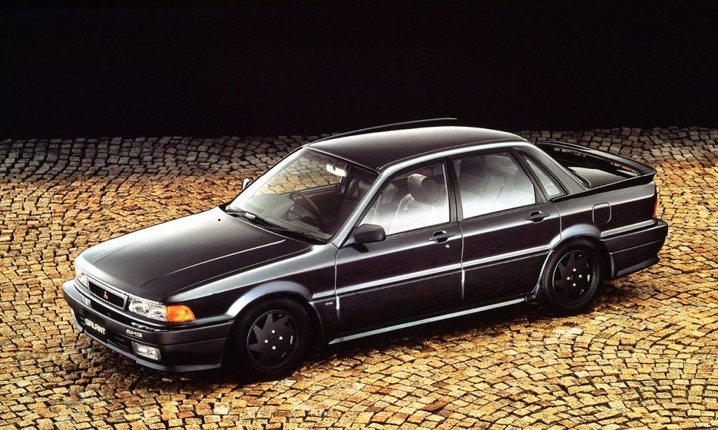Mitsubishi Galant AMG, la desconocida superberlina japonesa
