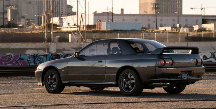 Nissan GT-R Skyline.