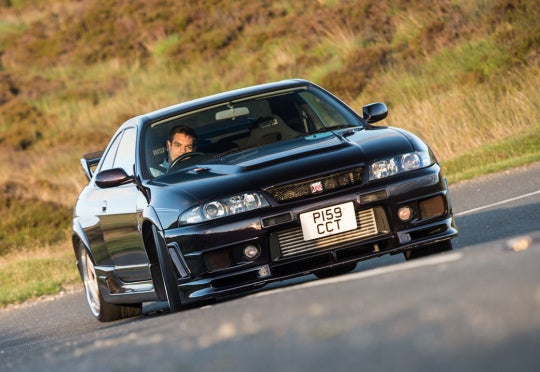 Nissan Skyline GT-R R33 Nismo 400R: frontal
