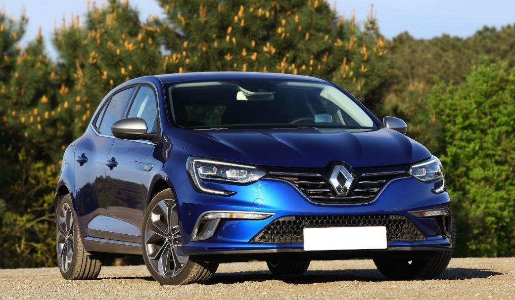 Renault Megane 2017: frontal