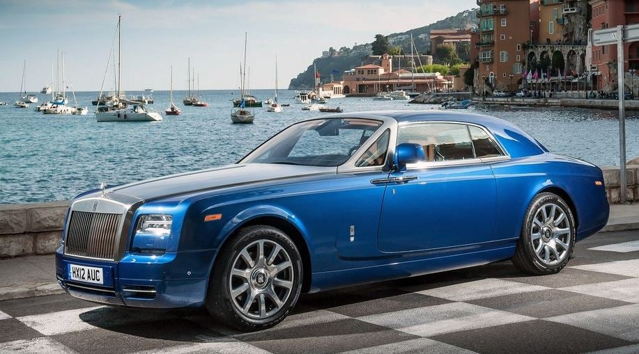 Rolls Royce Phantom Coupé.