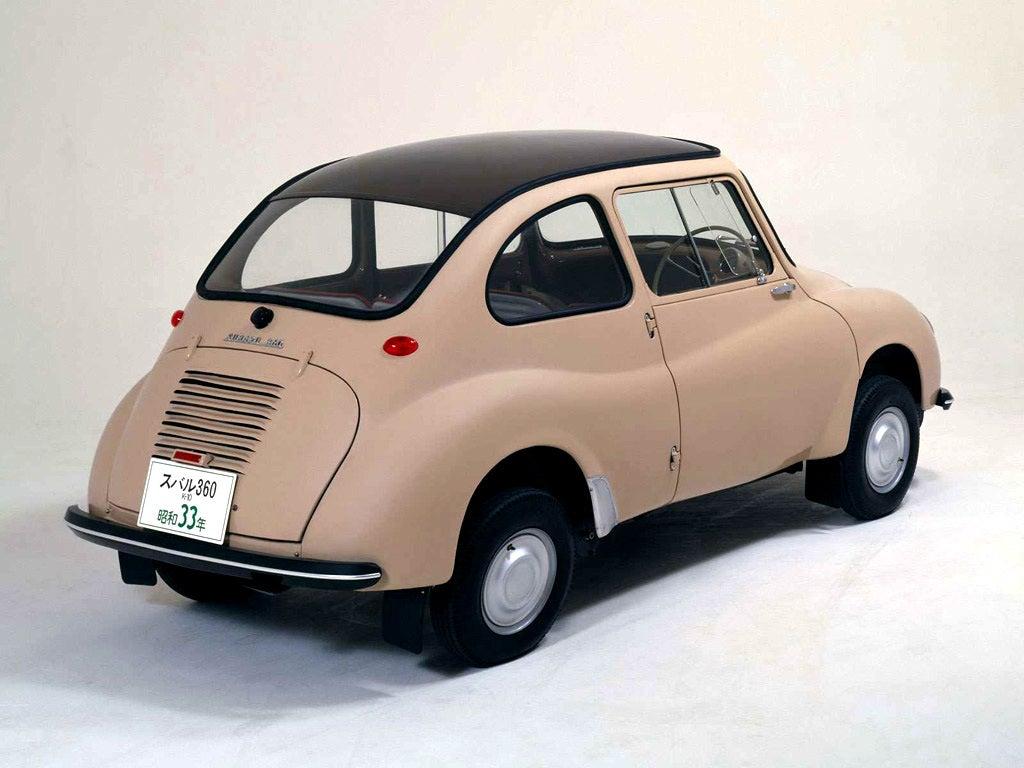 Subaru 360: trasera