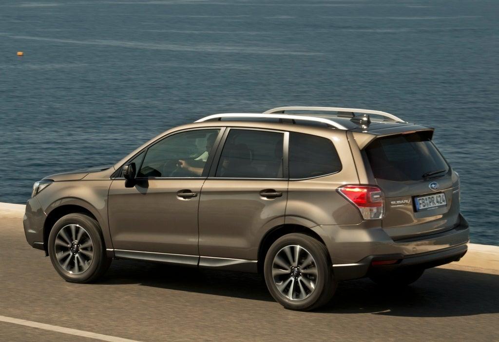 Subaru Forester: trasera
