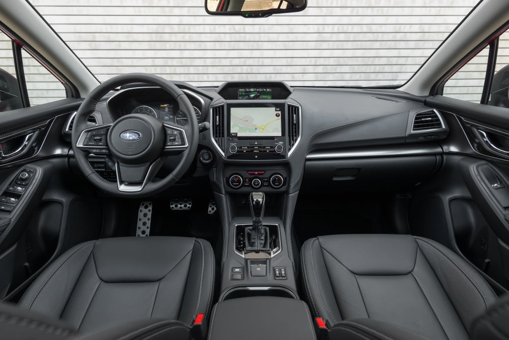 Subaru Impreza: interior